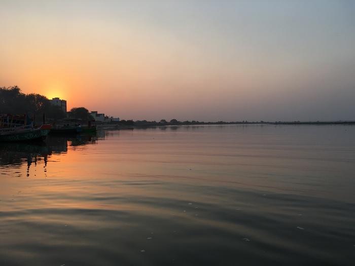 聖なる河ヤムナー